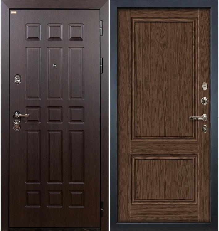 Входная дверь Сенатор / Энигма Орех (панель №57)