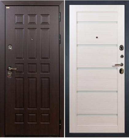 Входная дверь Сенатор / Клеопатра Беленый дуб (панель №58)