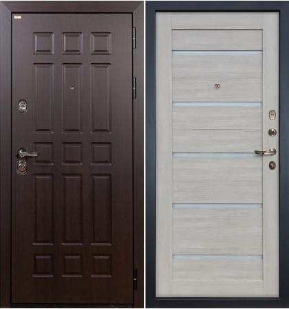 Входная дверь Сенатор / Клеопатра Ясень кремовый (панель №66)