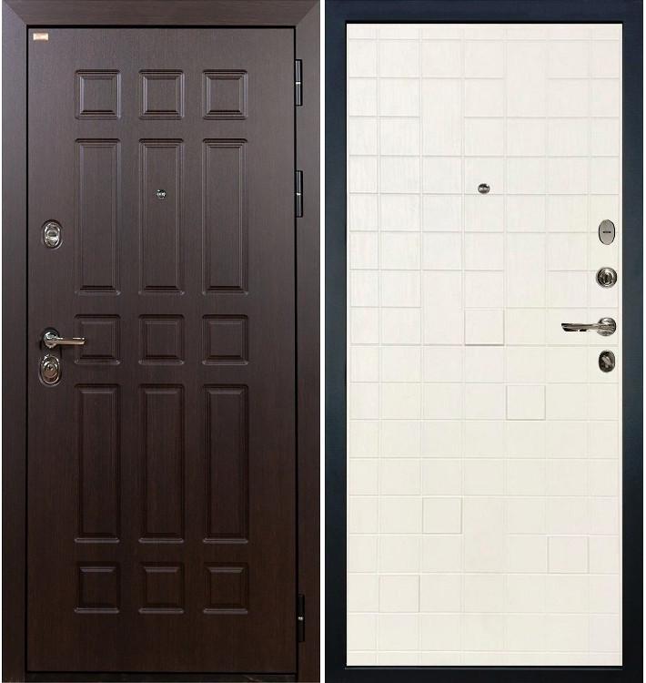 Входная дверь Сенатор / Белый ясень (панель №56)