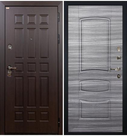 Входная дверь Сенатор / Сандал серый (панель №69)