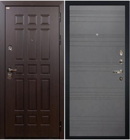 Входная дверь Сенатор / Графит софт (панель №70)