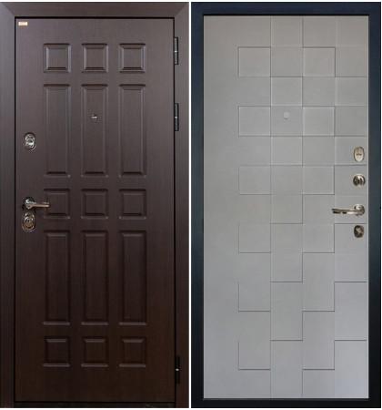 Входная дверь Сенатор / Квадро Графит софт (панель №72)