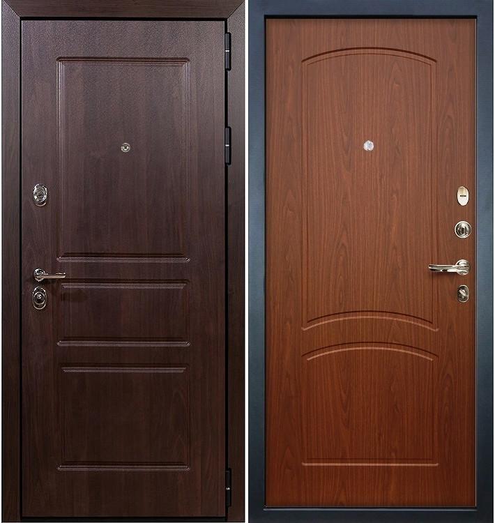 Входная дверь Сенатор Винорит / Береза мореная (панель №11)