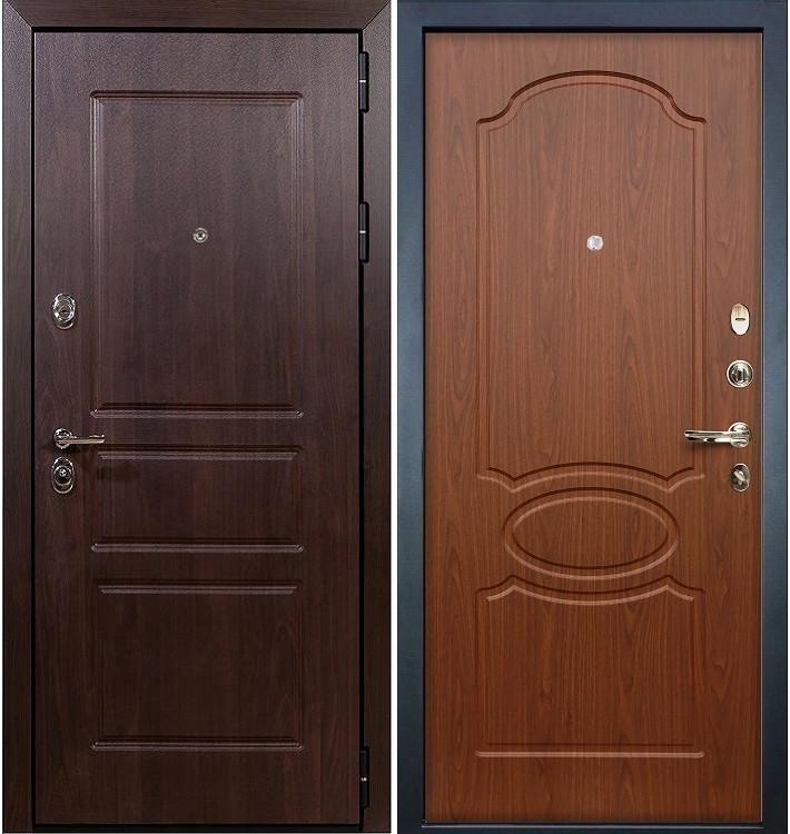 Входная дверь Сенатор Винорит / Береза мореная (панель №12)