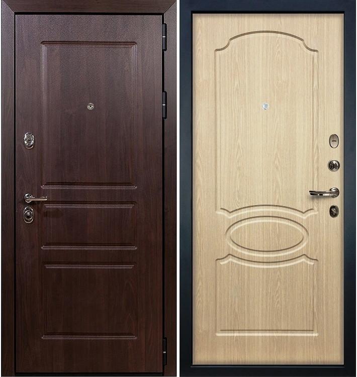 Входная дверь Сенатор Винорит / Беленый дуб (панель №14)