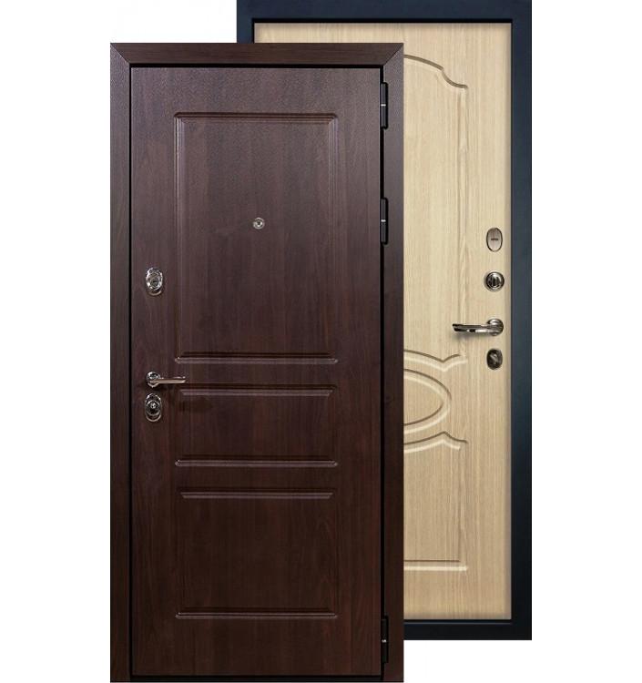 Входная дверь Лекс Сенатор Винорит ФЛ-14 (Беленый дуб)
