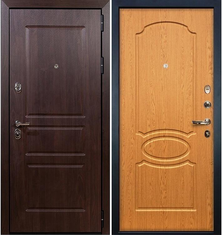 Входная дверь Сенатор Винорит / Дуб натуральный (панель №15)