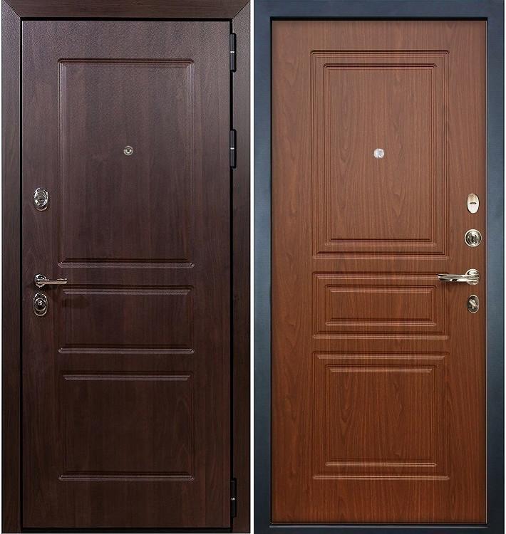 Входная дверь Сенатор Винорит / Береза мореная (панель №19)