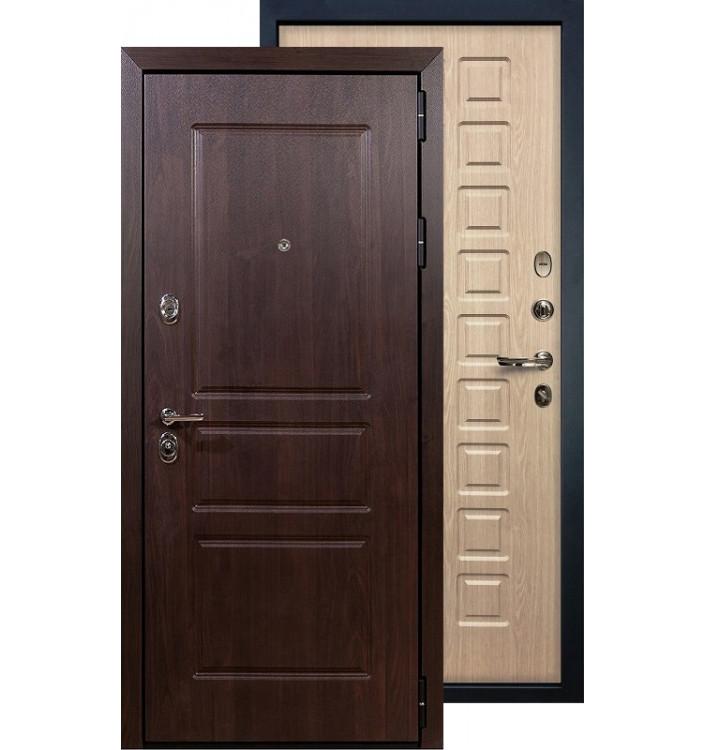 Входная дверь Лекс Сенатор Винорит ФЛ-20 (Беленый дуб)
