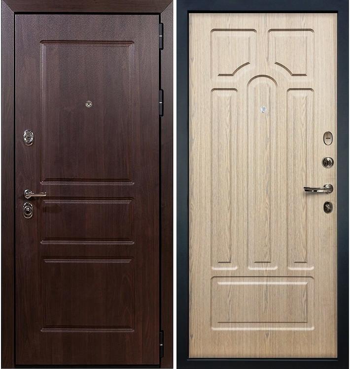 Входная дверь Сенатор Винорит / Беленый дуб (панель №25)