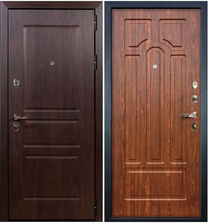 Входная дверь Сенатор Винорит / Береза мореная (панель №26)