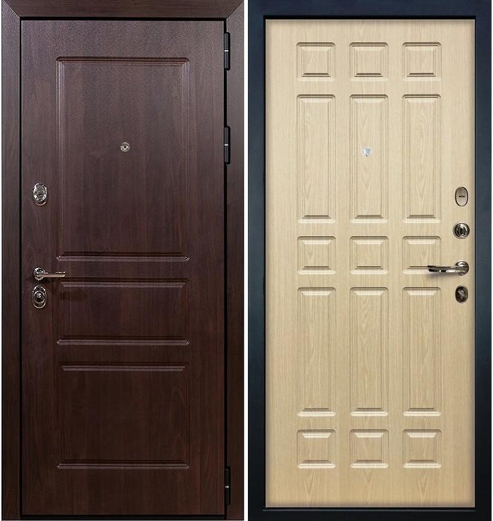 Входная дверь Сенатор Винорит / Беленый дуб (панель №28)