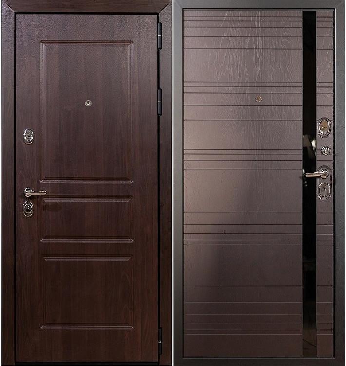 Входная дверь Сенатор Винорит / Ясень шоколадный (панель №31)