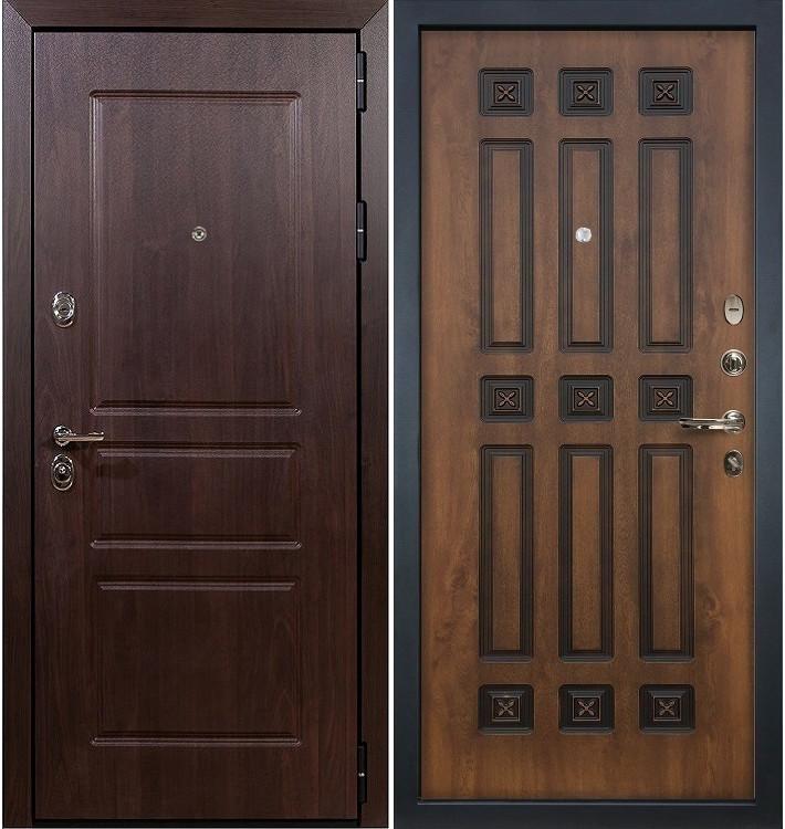 Входная дверь Сенатор Винорит / Голден патина (панель №33)