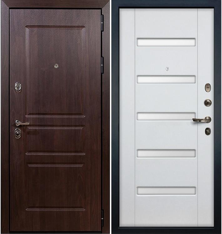 Входная дверь Сенатор Винорит / Белый ясень (панель №34)
