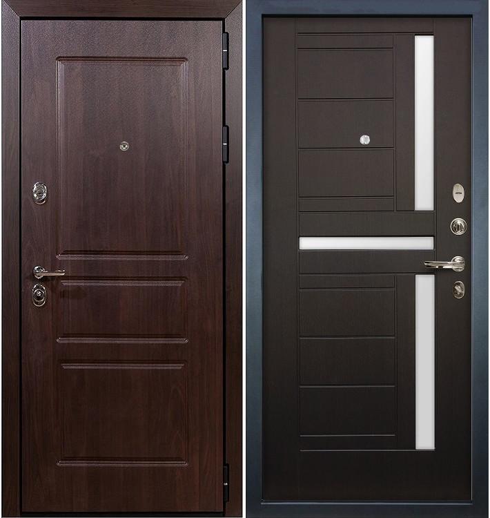 Входная дверь Сенатор Винорит / Венге (панель №35)