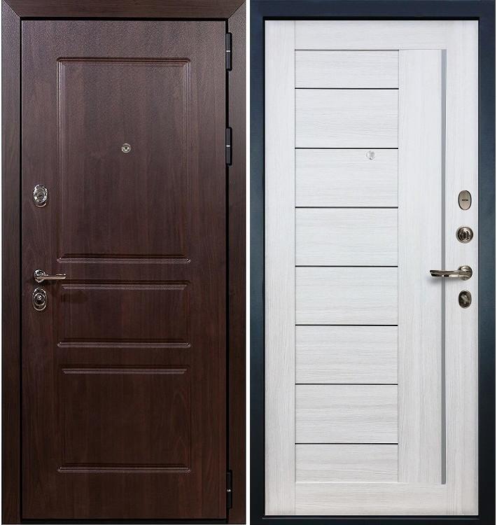 Входная дверь Сенатор Винорит / Верджиния Беленый дуб (панель №38)