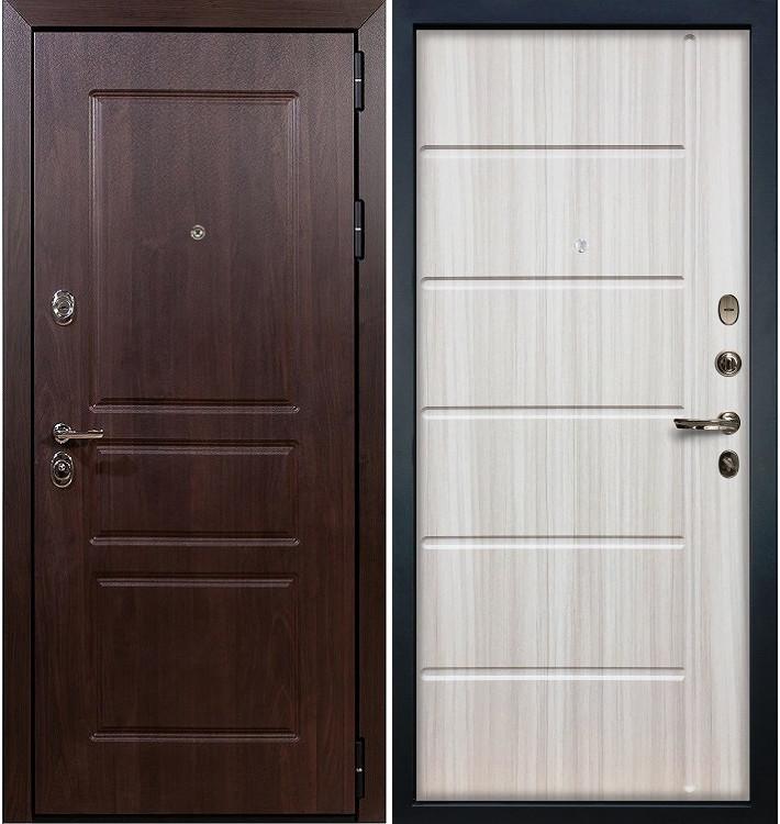 Входная дверь Сенатор Винорит / Сандал белый (панель №42)