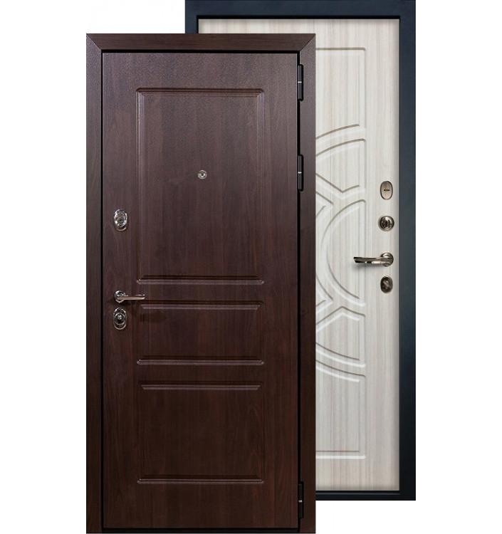 Входная дверь Лекс Сенатор Винорит ФЛ-44 (Сандал белый)