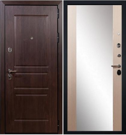 Входная дверь Сенатор Винорит / Стиль Беленый дуб (панель №45)