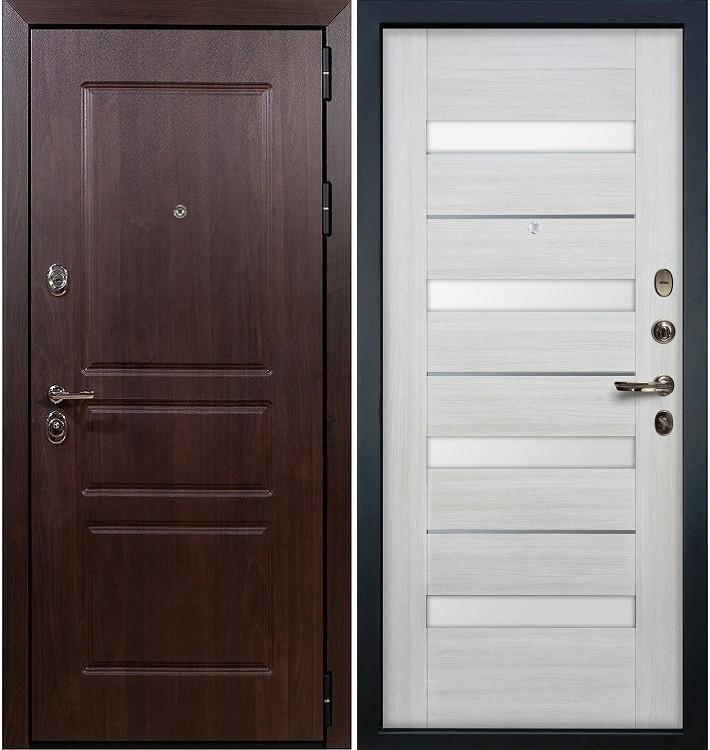 Входная дверь Сенатор Винорит / Сицилио Беленый дуб (панель №46)