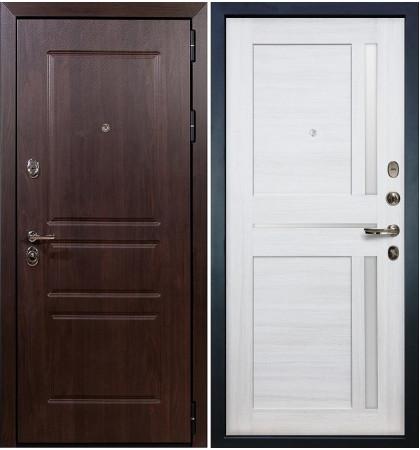 Входная дверь Сенатор Винорит / Баджио Беленый дуб (панель №47)