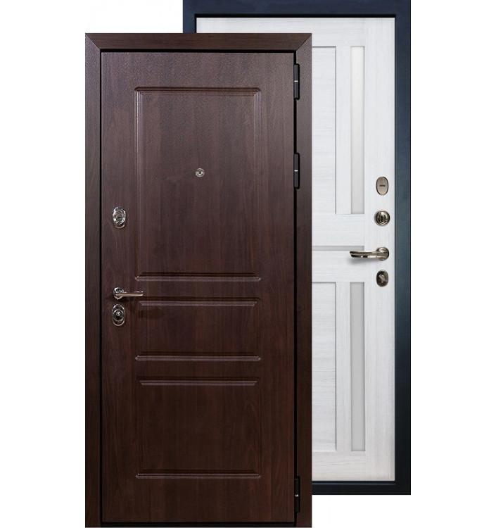Входная дверь Лекс Сенатор Винорит Баджио (Беленый дуб)