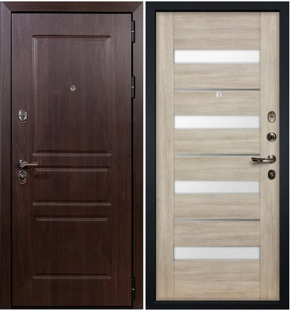 Входная дверь Сенатор Винорит / Сицилио Ясень кремовый (панель №48)