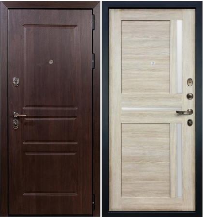 Входная дверь Сенатор Винорит / Баджио Кремовый ясень (панель №49)