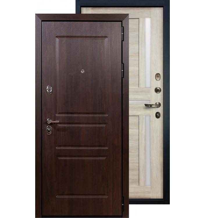 Входная дверь Лекс Сенатор Винорит Баджио (Кремовый ясень)