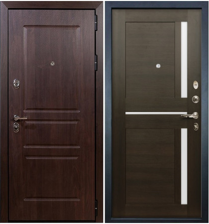 Входная дверь Сенатор Винорит / Баджио Венге (панель №50)