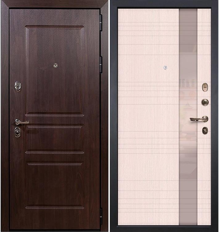 Входная дверь Сенатор Винорит / Новита Беленый дуб (панель №52)