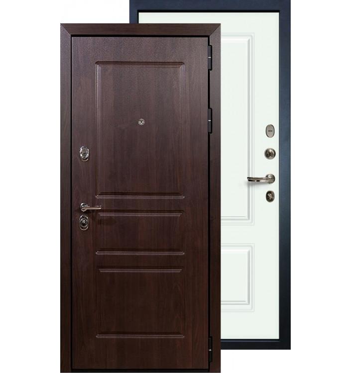 Входная дверь Лекс Сенатор Винорит Вероника (Белая эмаль)