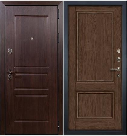 Входная дверь Сенатор Винорит / Энигма Орех (панель №57)