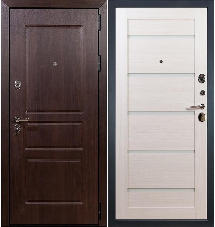 Входная дверь Сенатор Винорит / Клеопатра Беленый дуб (панель №58)