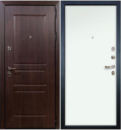 Входная дверь Сенатор Винорит / Белый винорит (панель №59)