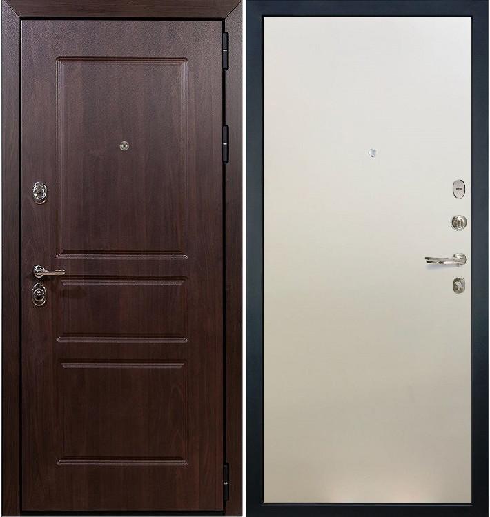 Входная дверь Сенатор Винорит / Белый ясень (панель №62)