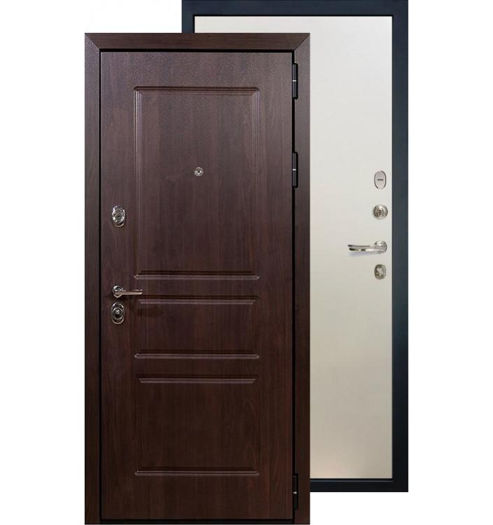 Входная дверь Лекс Сенатор Винорит ФЛ-62 (Белый ясень)