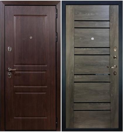 Входная дверь Сенатор Винорит / Терра Графит шале (панель №64)