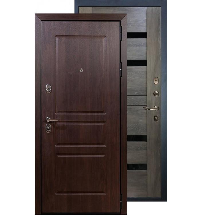 Входная дверь Лекс Сенатор Винорит Неро (Графит шале)