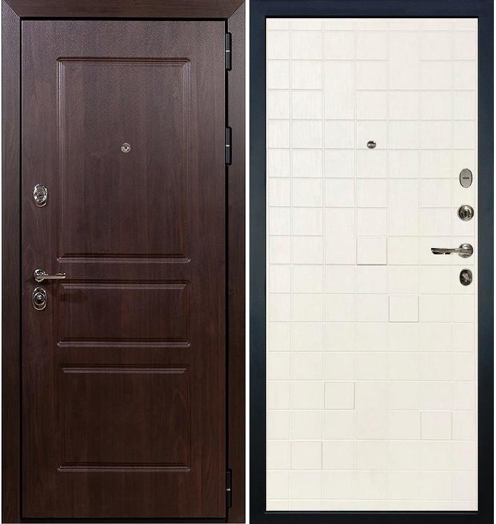 Входная дверь Сенатор Винорит / Белый ясень (панель №56)