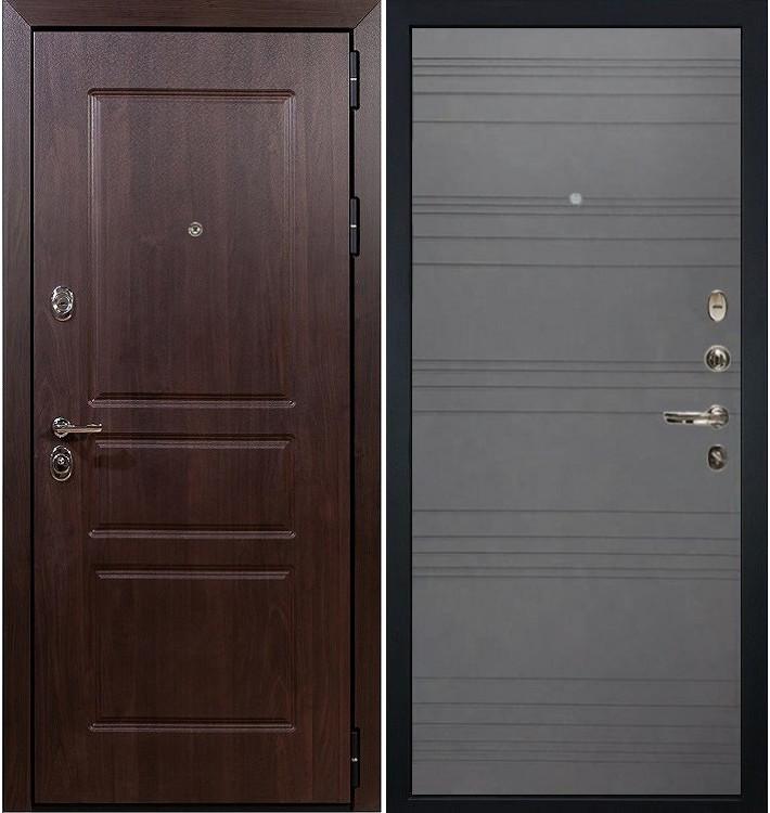 Входная дверь Сенатор Винорит / Графит софт (панель №70)