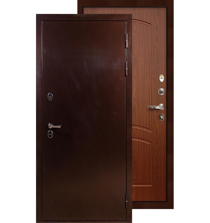 Входная дверь Лекс Термо Сибирь 3К ФЛ-11 (Береза мореная)