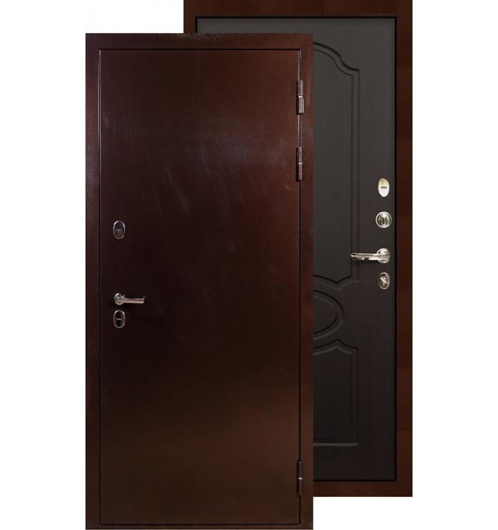 Входная дверь Лекс Термо Сибирь 3К ФЛ-13 (Венге)
