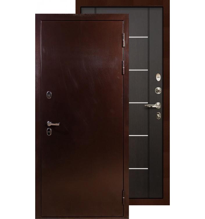 Входная дверь Лекс Термо Сибирь 3К ФЛ-24 (Венге)