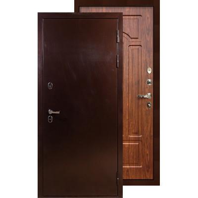 Входная дверь Лекс Термо Сибирь 3К ФЛ-26 (Береза мореная)