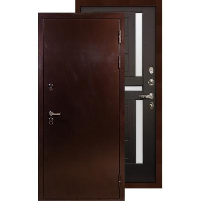 Входная дверь Лекс Термо Сибирь 3К ФЛ-35 (Венге)