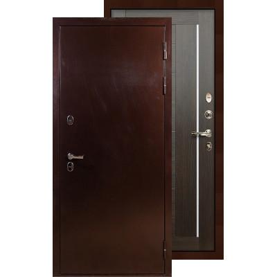 Входная дверь Лекс Термо Сибирь 3К Верджиния (Венге)