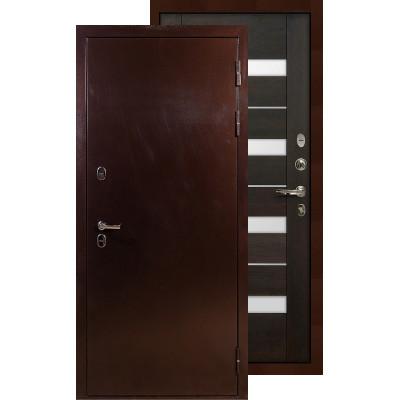 Входная дверь Лекс Термо Сибирь 3К Сицилио (Венге)